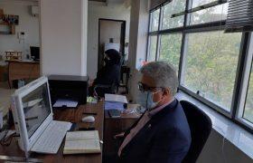 افتتاحیه دادسرای انتظامی مرکز کارشناسان رسمی دادگستری  استان مرکزی بصورت مجازی