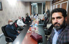 جلسه مشترک هیات مدیره مرکز کارشناسان رسمی دادگستری و کانون کارشناسان رسمی دادگستری  استان مرکزی
