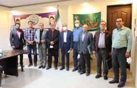 جلسه مشترک هیات مدیره مرکز کارشناسان و کانون کارشناسان رسمی دادگستری استان مرکزی